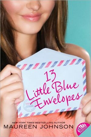 Book cover of 13 Little Blue Envelopes