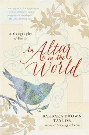 Book cover of An Altar in the World: A Geography of Faith