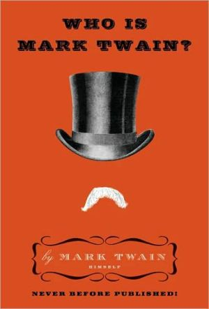 Book cover of Who Is Mark Twain?