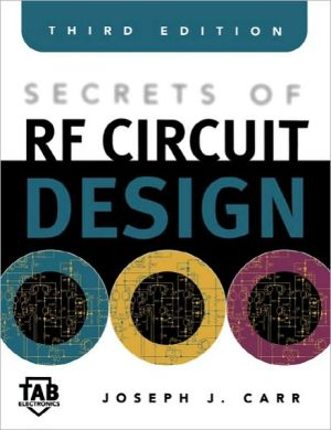 Book cover of Secrets of RF Circuit Design