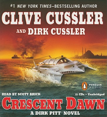 Book cover of Crescent Dawn (Dirk Pitt Series #21)