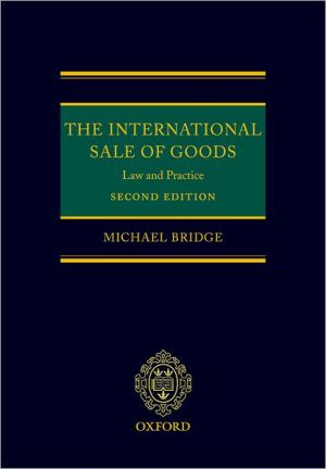 Book cover of The International Sale of Goods: Law and Practice