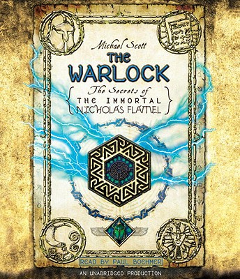 Book cover of The Warlock (Secrets of the Immortal Nicholas Flamel Series)