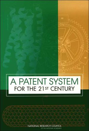 Book cover of A Patent System for the 21st Century