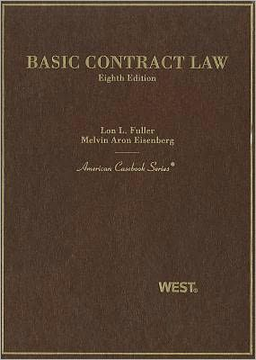 Book cover of Basic Contract Law