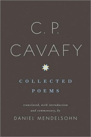 Book cover of C. P. Cavafy: Collected Poems