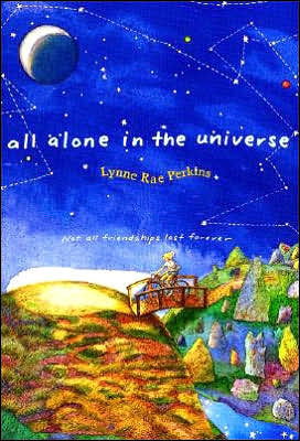 Book cover of All Alone in the Universe