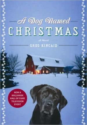 Book cover of A Dog Named Christmas