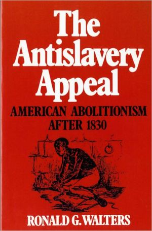 Book cover of The Antislavery Appeal