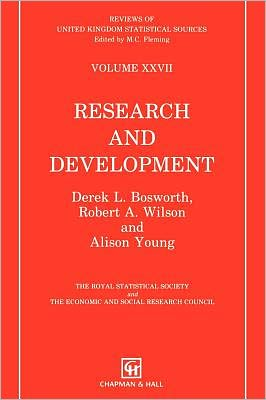 Book cover of Research and Development (Reviews of United Kingdom Statical Sources Series), Vol. 27