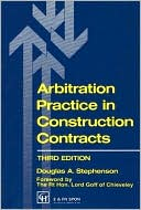 Book cover of Arbitration Practice In Construction Contracts