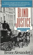 Book cover of Blind Justice (Sir John Fielding Series #1)