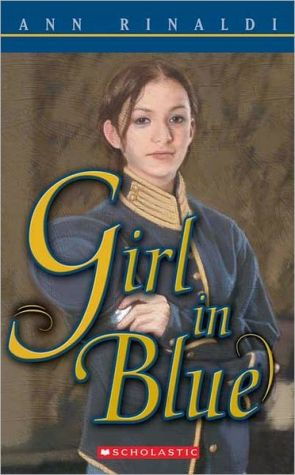 Book cover of Girl in Blue