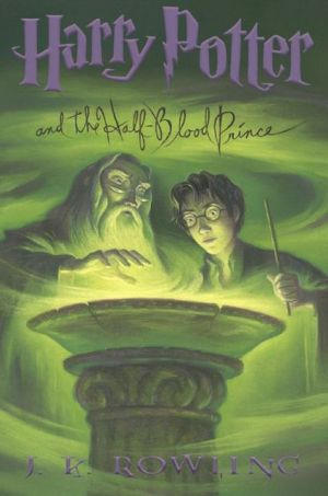 Book cover of Harry Potter and the Half-Blood Prince (Harry Potter #6)