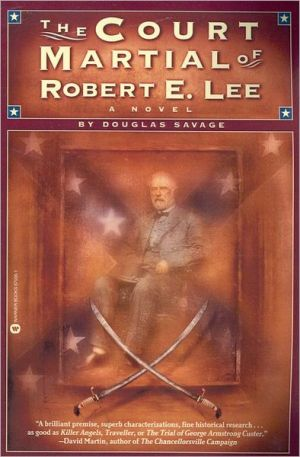 Book cover of The Court Martial of Robert E. Lee