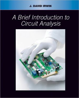 Book cover of Brief Introduction to Circuit Analysis
