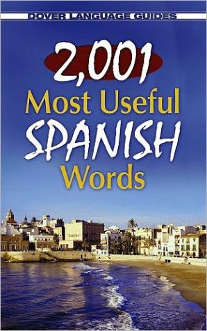 Book cover of 2,001 Most Useful Spanish Words