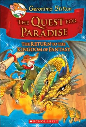 Book cover of The Quest for Paradise (Geronimo Stilton Series)