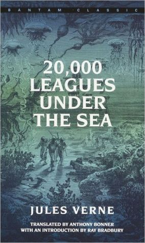 Book cover of 20,000 Leagues under the Sea (Bantam Classics Series)