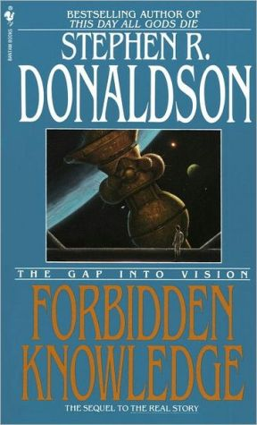 Book cover of Forbidden Knowledge: The Gap into Vision (Gap Series #2)