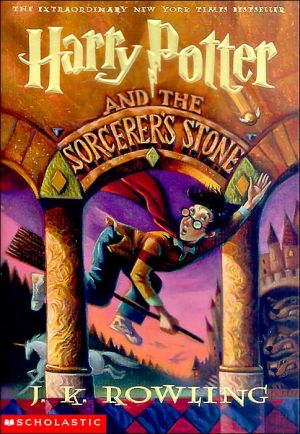 Book cover of Harry Potter and the Sorcerer's Stone (Harry Potter #1)