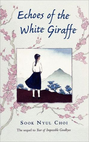 Book cover of Echoes of the White Giraffe