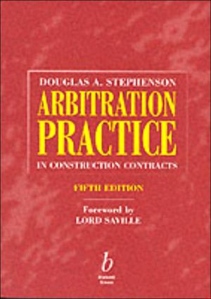 Book cover of Arbitration Practice In Constr