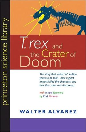 "Book cover of ""T. rex"" and the Crater of Doom"