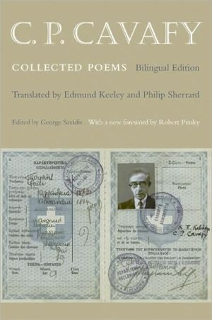 Book cover of C. P. Cavafy: Collected Poems: Bilingual Edition