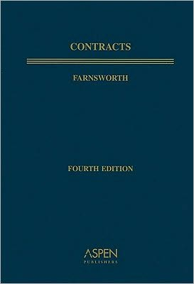 Book cover of Contracts, Fourth Edition, Textbook Treatise Series, Paperback