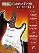 Book cover of 10 for 10 Classic Rock Guitar Tab: Easy Guitar TAB