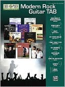 Book cover of 10 for 10 Modern Rock Guitar Tab: Easy Guitar TAB