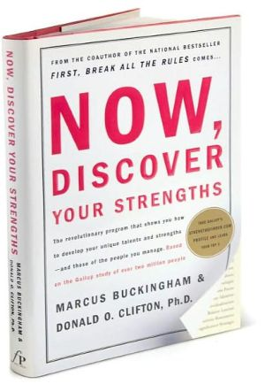 Book cover of Now, Discover Your Strengths