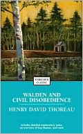 Book cover of Walden and Civil Disobedience