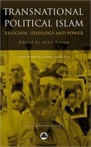 Book cover of Transnational Political Islam: Religion, Ideology and Power