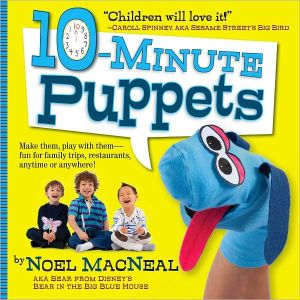 Book cover of 10-Minute Puppets