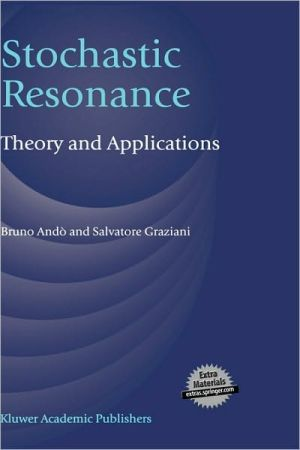 Book cover of Stochastic Resonance
