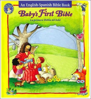 Book cover of A Baby's First Bible: An English-Spanish Bible Book