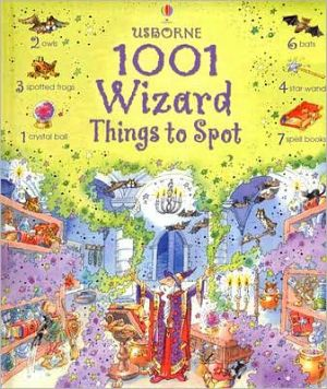Book cover of 1001 Wizard Things to Spot