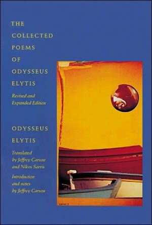 Book cover of The Collected Poems of Odysseus Elytis