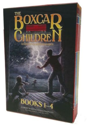 Book cover of The Boxcar Children® Mysteries Boxed Set #1-4