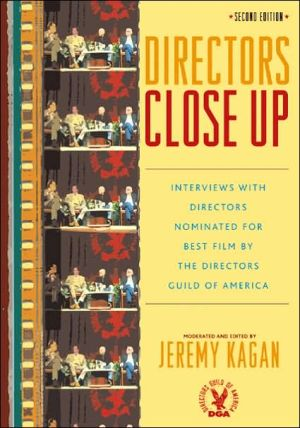 Book cover of Directors Close Up: Interviews with Directors Nominated for Best Film by the Directors Guild of America