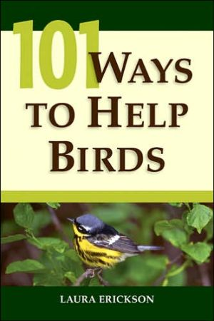 Book cover of 101 Ways to Help Birds