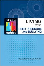 Book cover of Living with Peer Pressure and Bullying