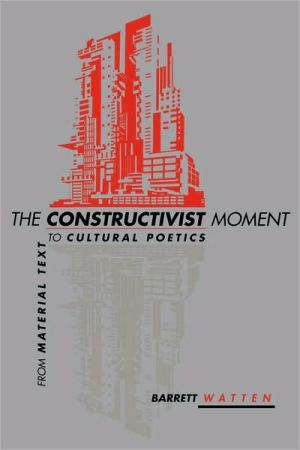 Book cover of The Constructivist Moment
