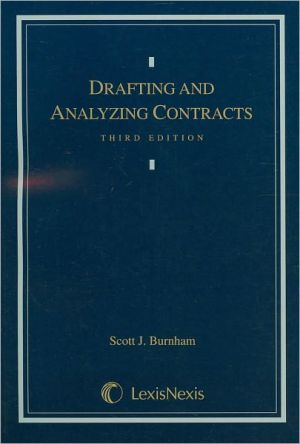 Book cover of Drafting and Analyzing Contracts 3E 2003