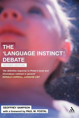 Book cover of 'Language Instinct' Debate: Revised Edition