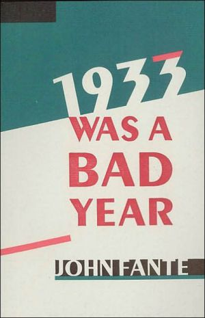 Book cover of 1933 Was a Bad Year