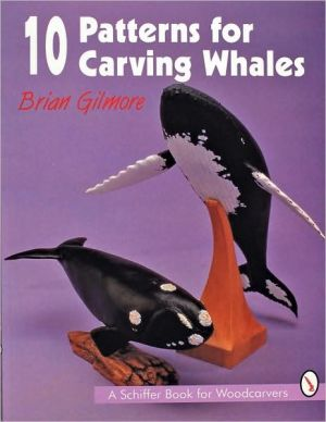Book cover of 10 Patterns for Carving Whales