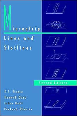 Book cover of Microstrip Lines And Slotlines 2nd Ed.